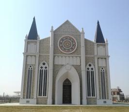 GRC系列汉花缘哥特大教堂