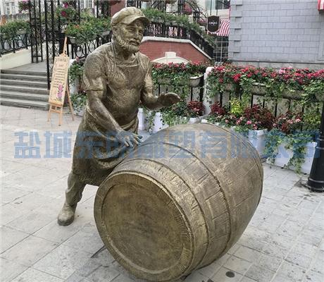 铸铜雕塑施工
