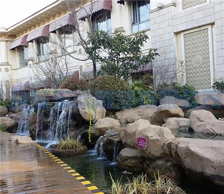 上海塑石水景