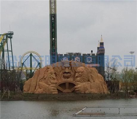扬州塑石假山