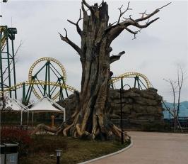 塑石假山 假树